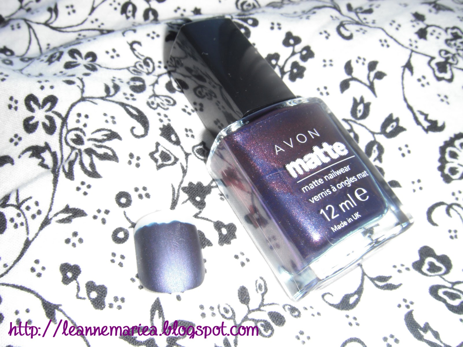 Leanne Marie.: Review: Avon Matte Nail Polishes