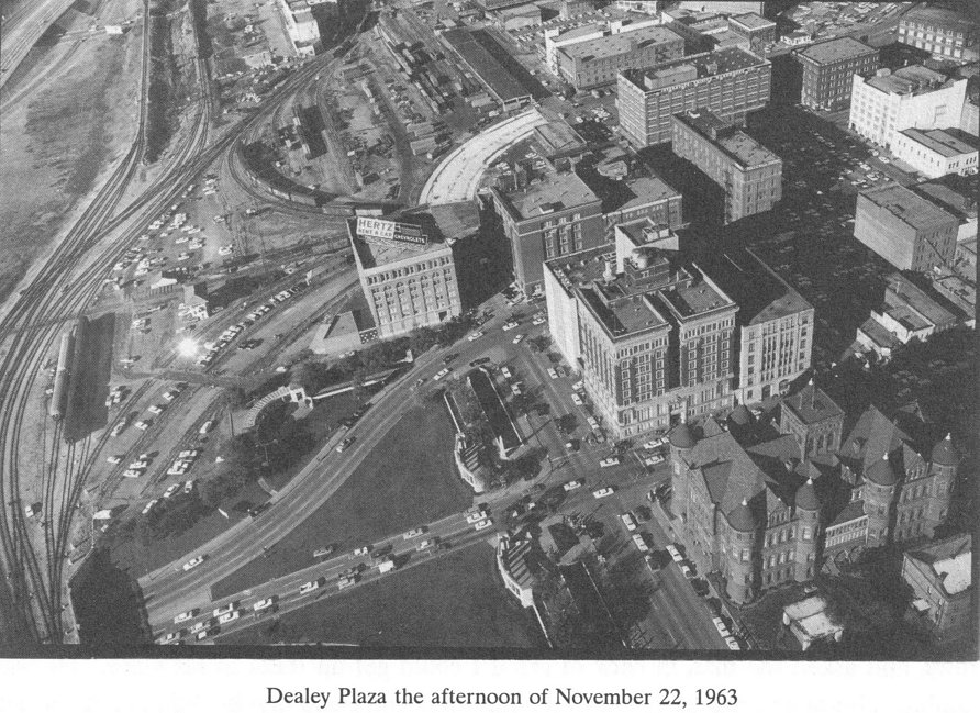 dvp 39 s potpourri dan rather in dealey plaza on november 23 1963 and photos of the plaza. Black Bedroom Furniture Sets. Home Design Ideas