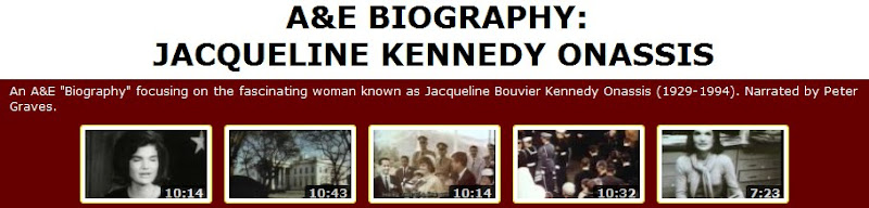 boigraphy of jacqueline kennedy onassis