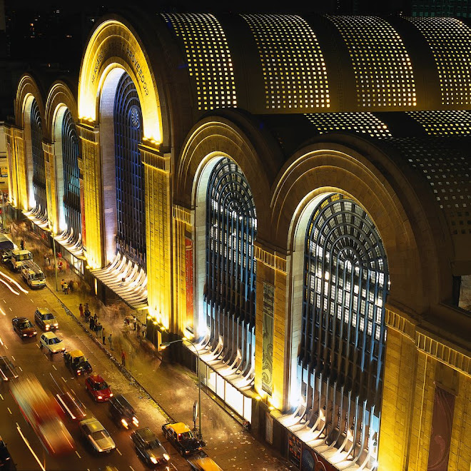 ABASTO Shopping Mall (building made in 1934)