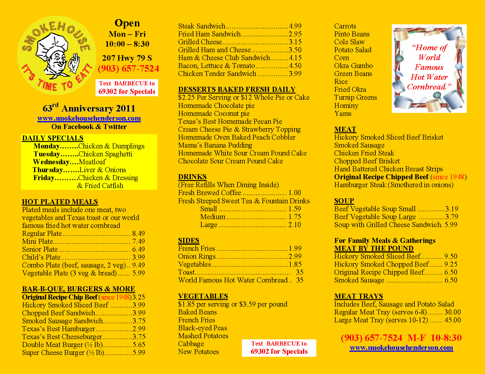 One page restaurant menu templates free programs