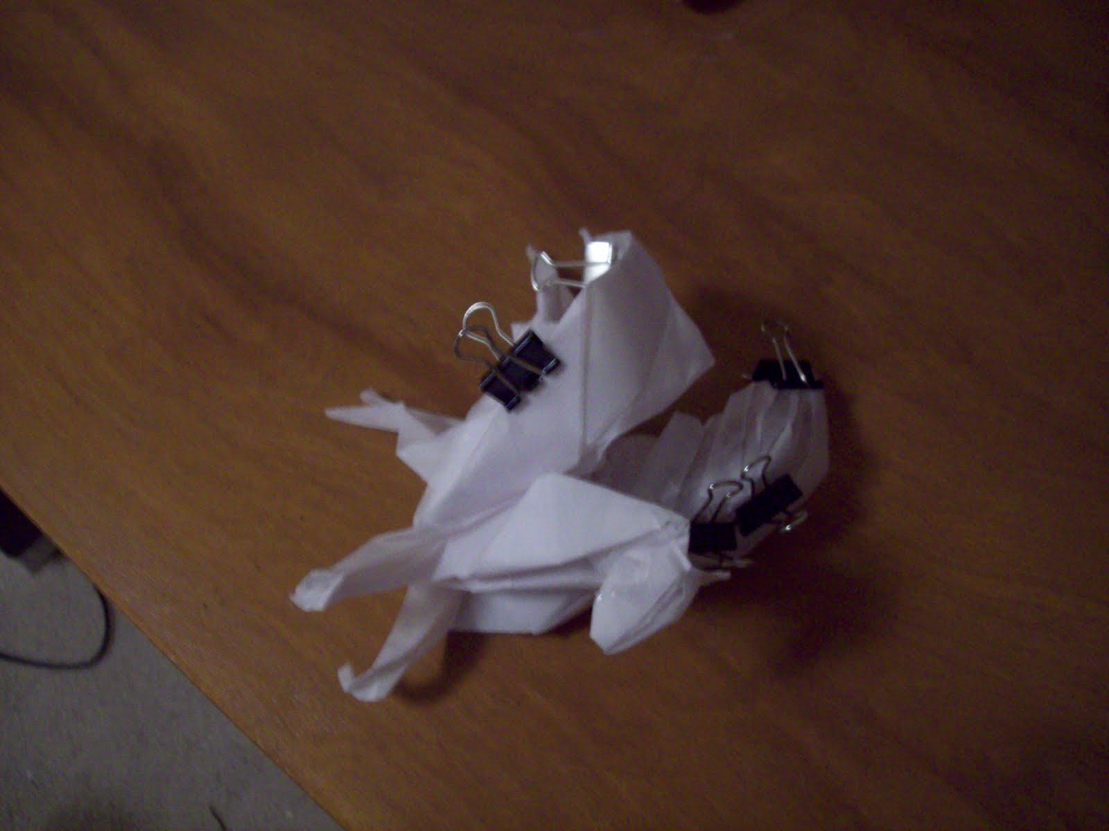 The Midnight Carver Latest Origami Pegasus