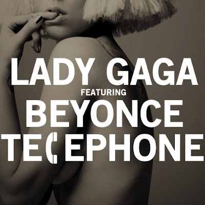 File under: Album reviews. Lady Gaga and Beyoncé - Telephone (2010) CD Front