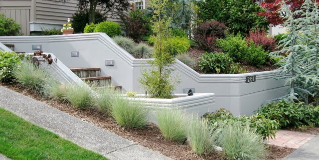 Seattle Garden Ideas Retaining Walls Rockeries