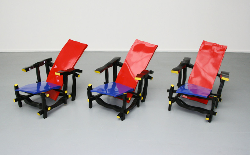 Designaholic mx for Silla roja y azul