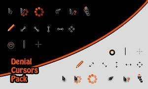 Denial Cursor Optimized 21 Cusor pack Untuk Windows Xp dan Windows 7