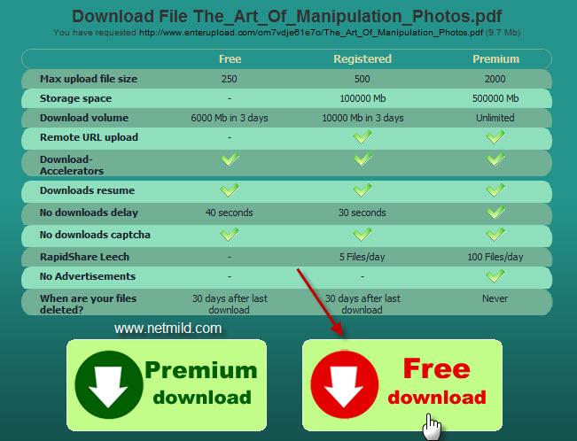 Cara mudah Download dari Rapidshare