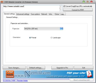 Convert Website Menjadi PDF