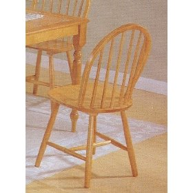 ... Country Style Wood Dining Chairs-Set of 4  Dining Room Furnitures