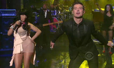 nicki minaj and Robin Thicke