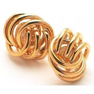 Monet Twist Knot Post Earrings