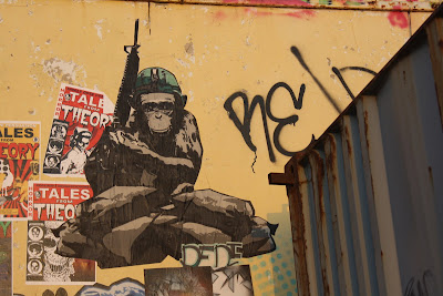 Street Art - Blog - Armed Monkey