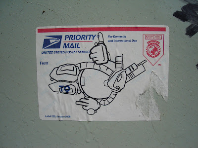 Robot Sticker