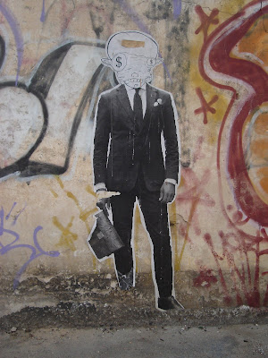 Man - Pig Poster - Street Art Blog
