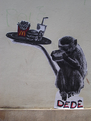 Dede Poster - McDonalds Monkey