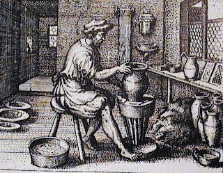 Cer mica origen del torno alfarero for Origen de la ceramica