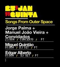 Songs from outer space @ Musicbox