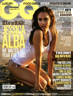 Jessica Alba @ GQ (UK) Aug '07