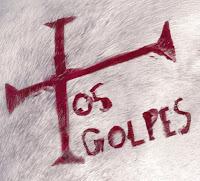 Os Golpes, Cruz vermelha sobre fundo branco