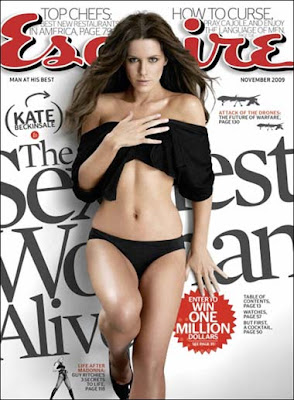 Kate Beckinsale: Sexiest woman alive '09