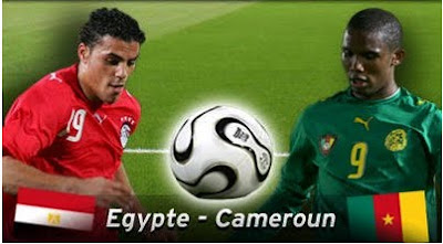 Egypte vs Cameroun 3 - 1 Can 2010