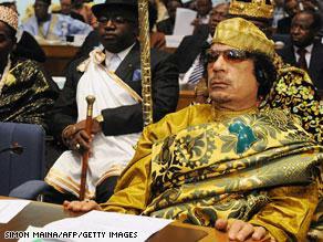 القذافي متعدد الشخصيااات