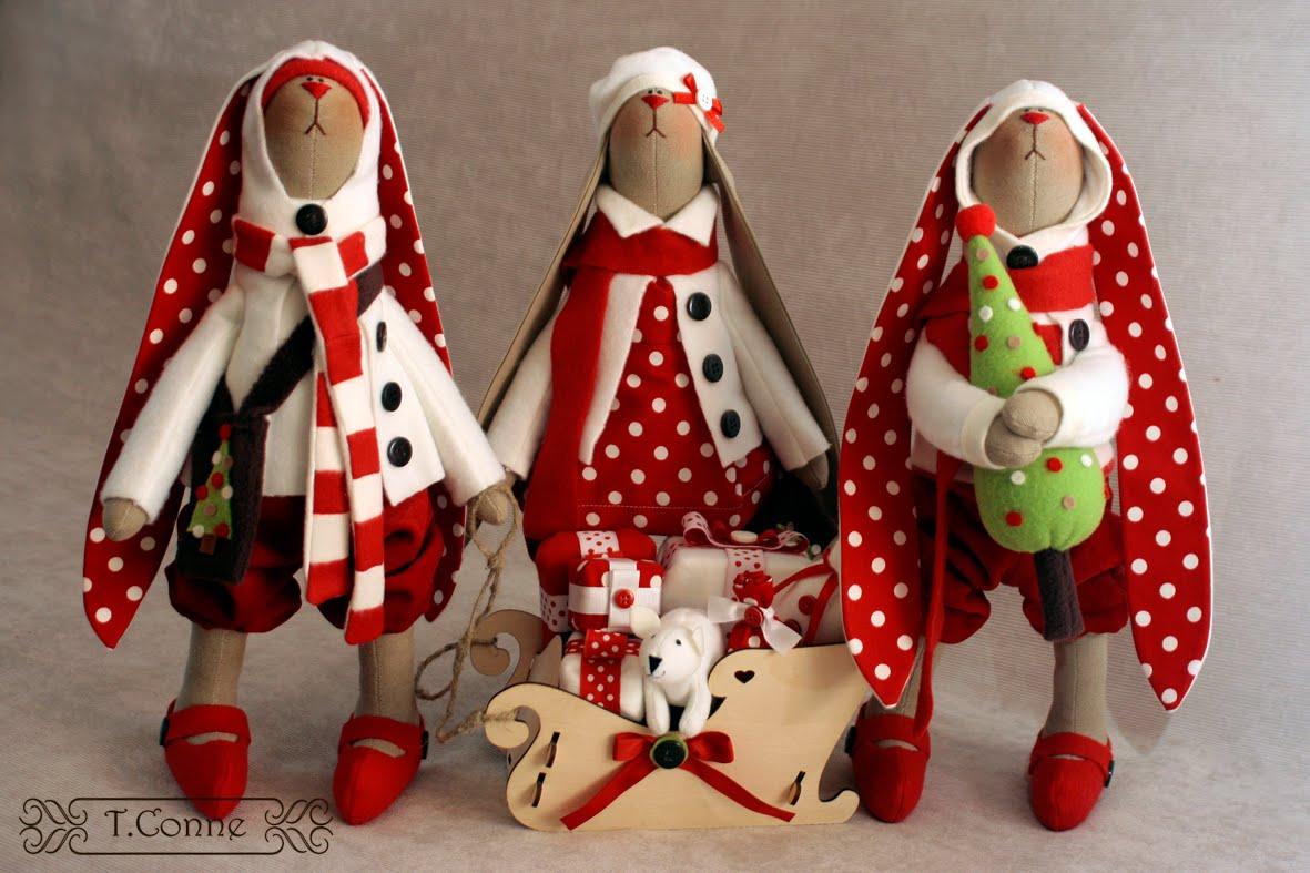 Зайцев новогодние игрушки