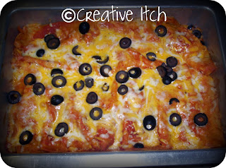 Creative Itch: Mom's Chicken Enchiladas