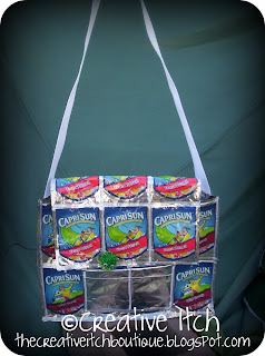 how to make a capri sun bag without sewing