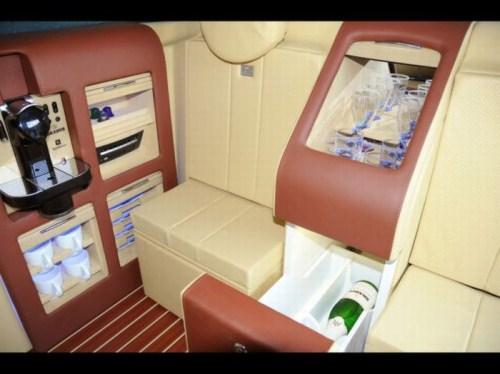 Mercedes Benz Viano Lounge. Brabus Mercedes-Benz Viano