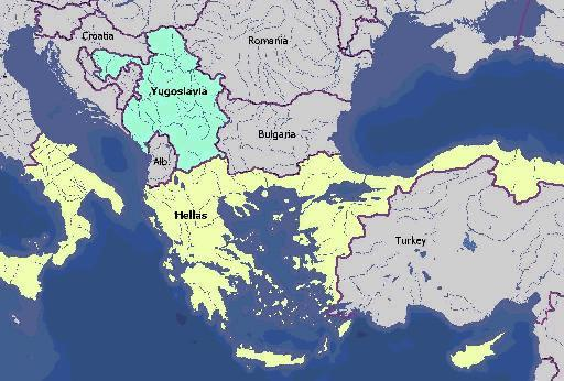 Greater Greece Hangs On Many Public Walls Say Macedonia - Greece in the treaty of sevres