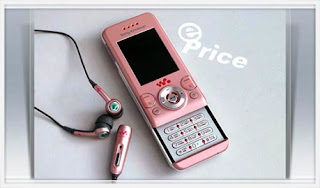 Imagénes Sony Ericsson W580i Metro Pink