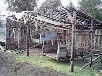 Actuales herramientas de trabajo de la familia Gaez Hinostroza en Pichi Maule, Comuna de Fresia