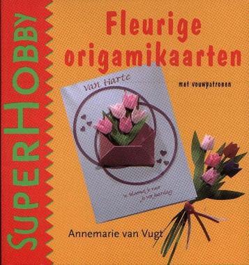 украшенные цветами оригами