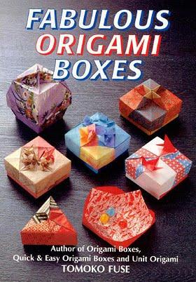 Книга - Схемы изумительных оригами коробочек