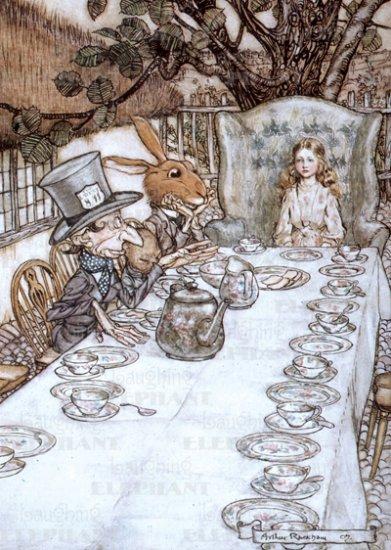 Wonderland Soup All The Gorey Details