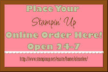 Stampin' Up Online Orders