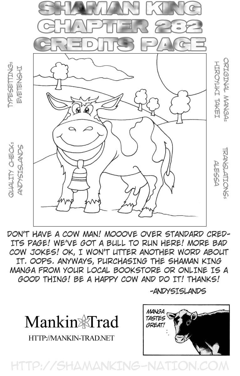 Vua Pháp Thuật-Shaman King chap 282 Trang 15 - Mangak.info