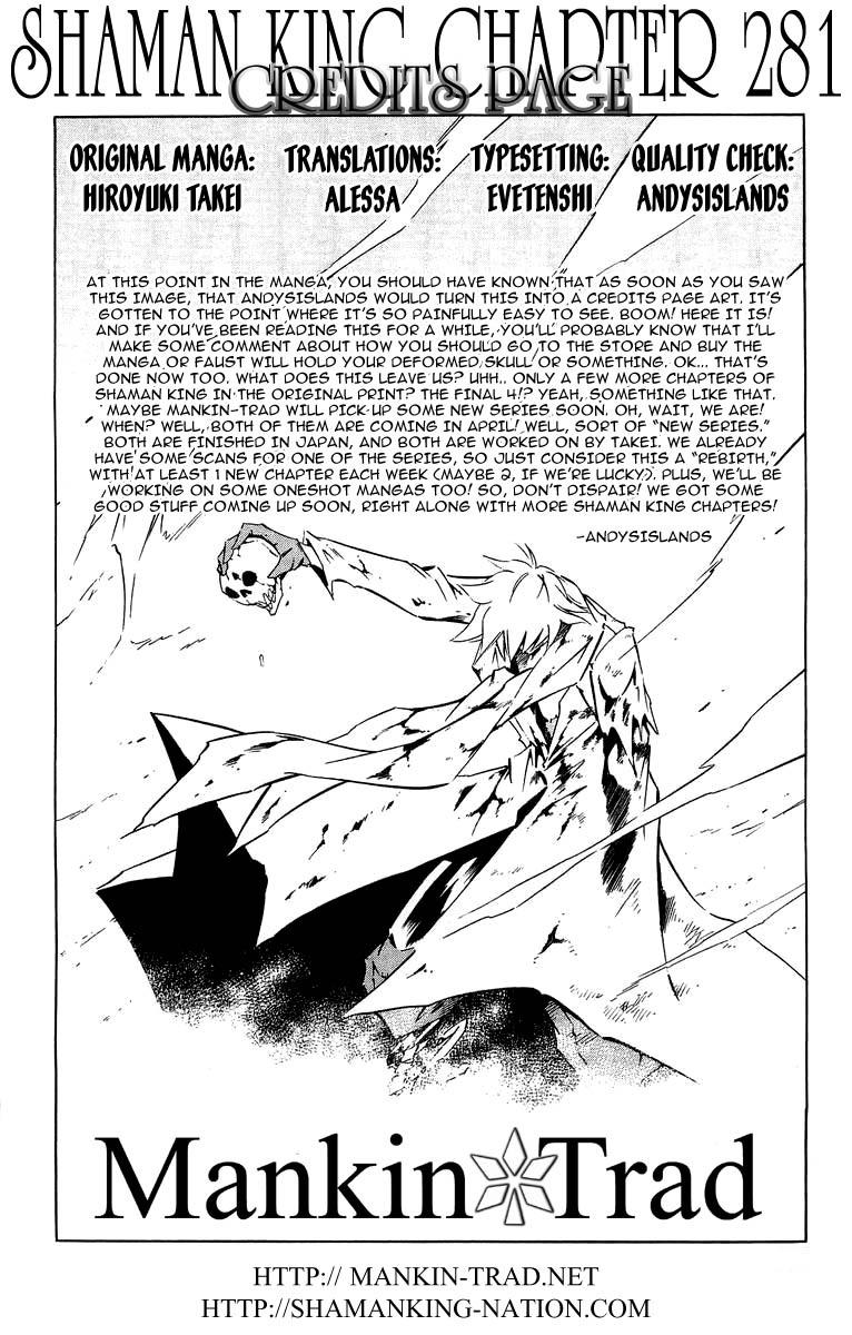 Vua Pháp Thuật-Shaman King chap 281 Trang 18 - Mangak.info