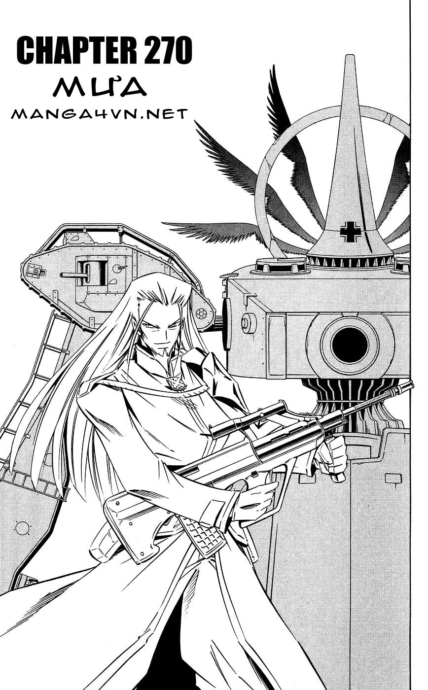 Vua Pháp Thuật-Shaman King chap 270 Trang 3 - Mangak.info