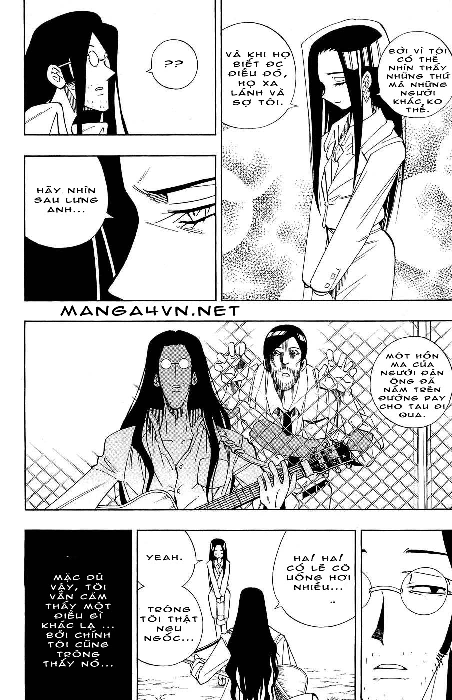 Vua Pháp Thuật-Shaman King chap 266 Trang 28 - Mangak.info