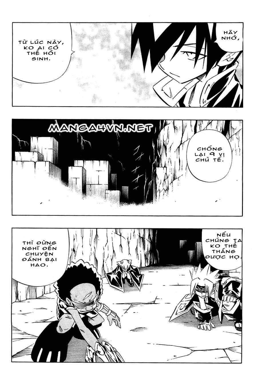 Vua Pháp Thuật-Shaman King chap 266 Trang 8 - Mangak.info