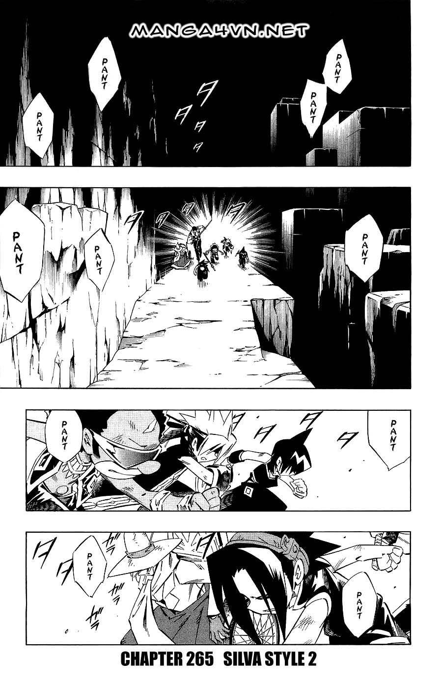Vua Pháp Thuật-Shaman King chap 265 Trang 1 - Mangak.info