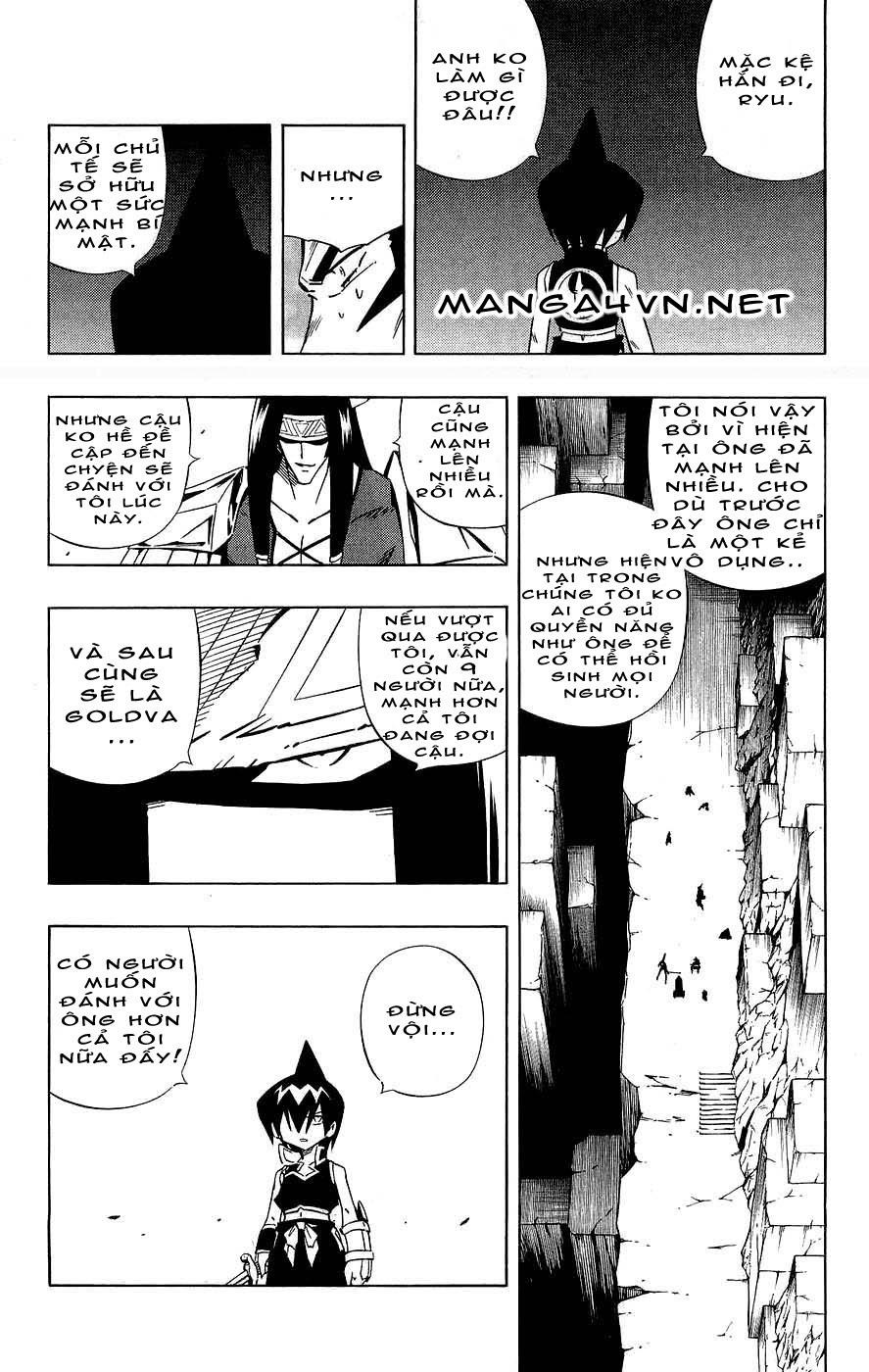Vua Pháp Thuật-Shaman King chap 265 Trang 17 - Mangak.info