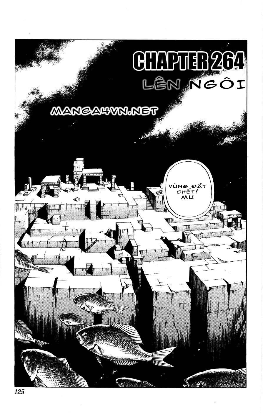 Vua Pháp Thuật-Shaman King chap 264 Trang 3 - Mangak.info