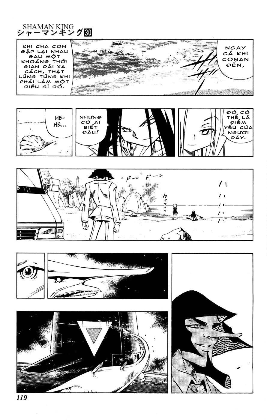 Vua Pháp Thuật-Shaman King chap 263 Trang 15 - Mangak.info