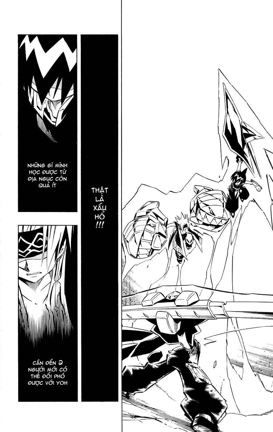Vua Pháp Thuật-Shaman King chap 257 Trang 4 - Mangak.info