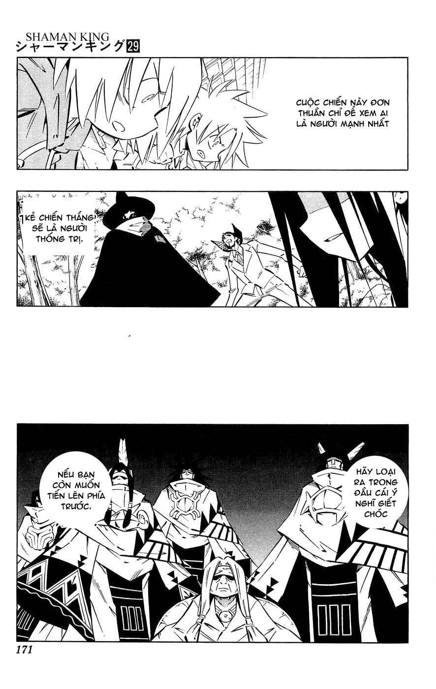 Vua Pháp Thuật-Shaman King chap 257 Trang 5 - Mangak.info