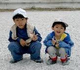 我兩個非常可愛的小孩