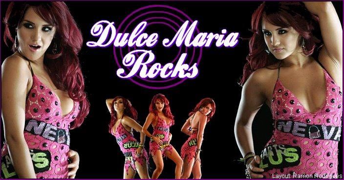 Dulce Maria Rocks